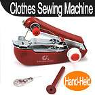 Cordless Mini Handy Hand Held Clothes Fabric Sartorius Sewing Machine
