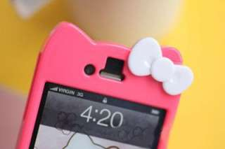 hot red new silicone hello kitty cute soft back ca
