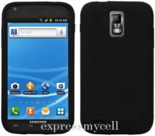 Premium BLACK Gel Case Cover TELUS SAMSUNG 4G GALAXY S II 2 S2 X T