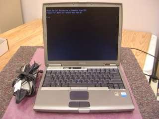 DELL LATITUDE D600 PENTIUM M 1.6GHz 1GB 20GB COMBO 14.1