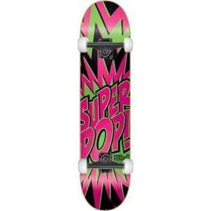 Blind Super Pop Complete   7.9 Black/Pink/Green w/Mini