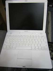 Apple Ibook G4 A1054 Laptop netbook computer used pc for parts