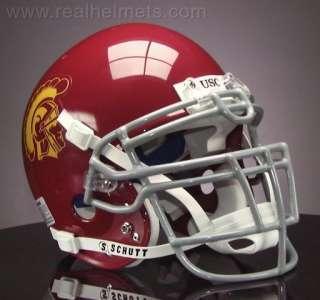 USC TROJANS Football Helmet USC FRONT NAMEPLATE Decal
