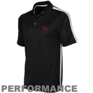 Antigua San Francisco Giants Black Revel Performance Polo