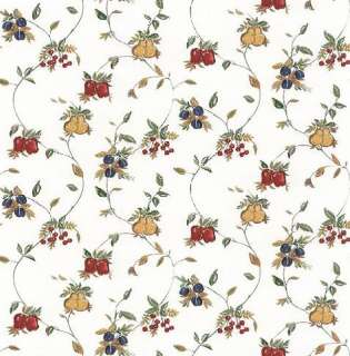 KITCHEN,FRUIT,PLUM,APPLE,CHERRY,PEAR Wallpaper AW25141