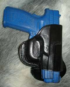 BERETTA COUGAR 8000 8045 BLACK LEATHER RH PADDLE HOLSTER by TAGUA