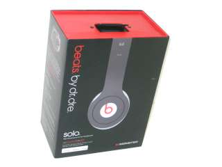 AS IS MONSTER BEATS DR.DRE SOLO 129424 00 HEADPHONES