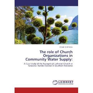 The role of Church Organizations in Community Water Supply