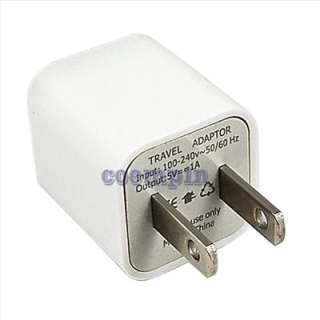 USB AC Wall Charger Adapter for iPod Touch iPhone 3G 3GS 4G 4S