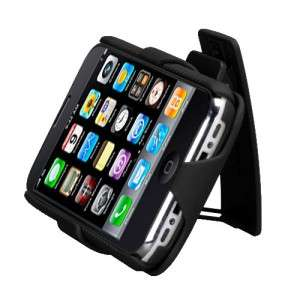 For Apple iPhone 3G 3GS COMBO Belt Clip Holster Hard Case Cover Stand