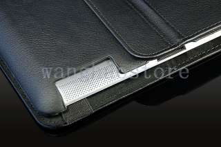 PU Leather Magnetic Case Smart Cover Stand for Apple iPad 2 360 Degree