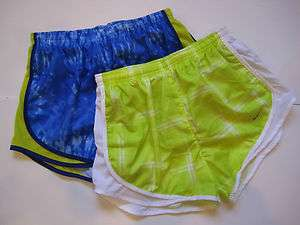 NWT Nike Womens Dri Fit Running Shorts w/Attached Underpants Small