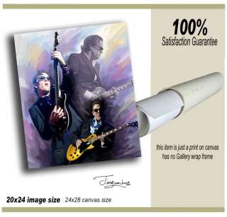 joe bonamassa  giclee print on canvas B 0375 2