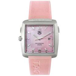 Tag Heuer Tiger Woods Womens Pink Watch