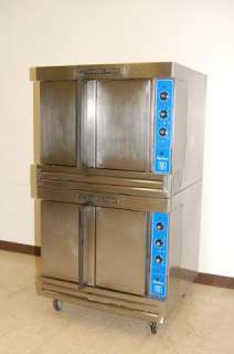 Bakers Pride Double Stack Cyclone Series Gas Convection Oven, C011 G