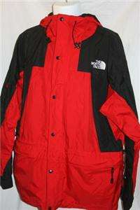 North Face Mens Jacket Summit Series Gore Tex Red Black Size XL