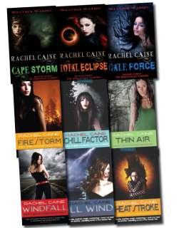 Weather Warden series collection 9 Books Set Rachel Caine morganville