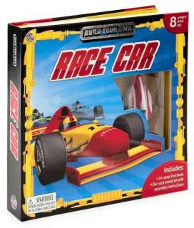 Build Your Own Race Car BRAND NEW MODEL KIT & BOOK NEW