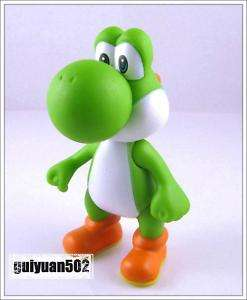 Super Mario Bros 5 YOSHI (Green) Action Figure Doll Y