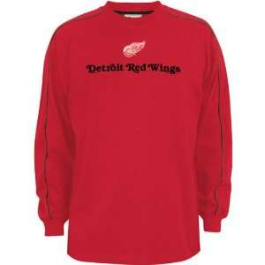 Detroit Red Wings Close Look Long Sleeve Crew Shirt