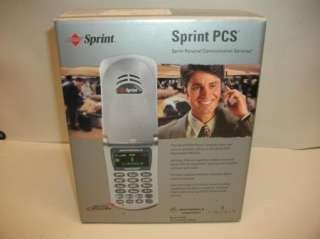 Rare Ford Lincoln car OEM Sprint PCS cell phone in box given with car