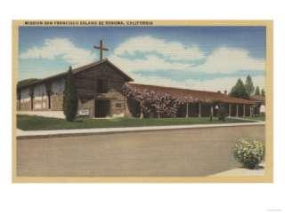 CA   Mission San Francisco Solano De Sonoma Poster at AllPosters