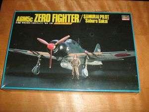 zero fighter samurai pilot saburo sakai model kit A6M5 Japanese