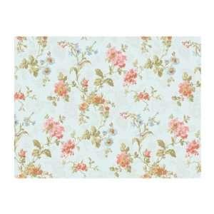 Geranium Multi Floral Wallpaper, Blue/Pink/Dark Blue
