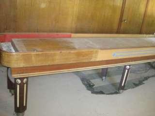 40s American ShuffleBoard Custom Deluxe Pro Tournament Table w