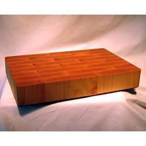Maple Wood Butcher Block   End Grain 16X9  Kitchen
