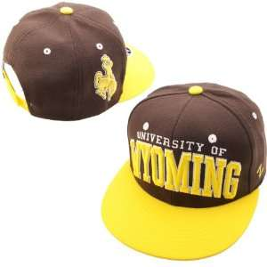 Zephyr Wyoming Cowboys Super Star Adjustable Hat