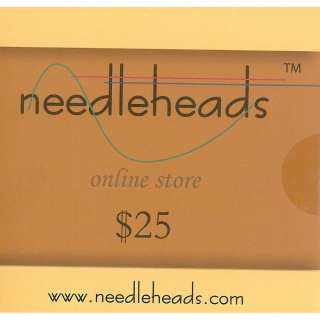 Needleheads Monogram Wizard Embroidery Software $25 Coupon Card
