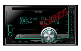 Kenwood DPX 404U CD  USB Double Din Car Stereo iPod iPhone Control