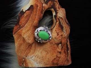 Glen Willie Big Mans Native American Mans Gaspeite Ring