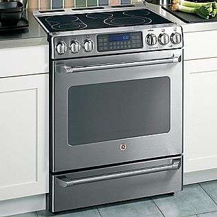 30 Freestanding Convection Range w/ Baking Drawer   Stainless Steel