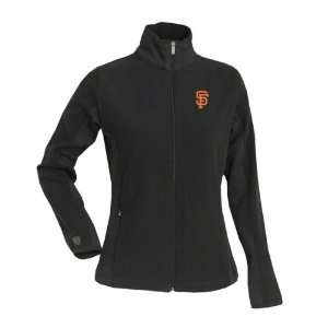 San Francisco Giants Womens Sleet Full Zip Fleece Jacket