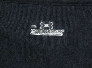 UNDER ARMOUR BLACK GOLF POLO SHIRT MENS XL