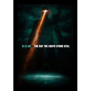 The Day The Earth Stood Still (2008) Original 27x40 Double Sided Movie