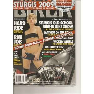 Biker Magazine (December 2009): Books