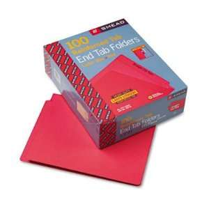 Colored File Folders Straight Cut Reinforced End