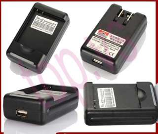 travel Battery Charger HTC Wildfire S G13 A510e HD7 T9292 HD7S