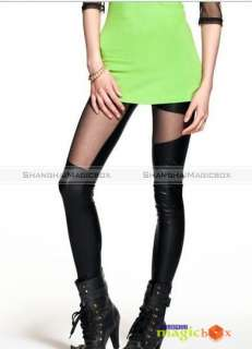 Women Fashion Sexy Tight Splice Long Stockings Leggings Pantyhose New