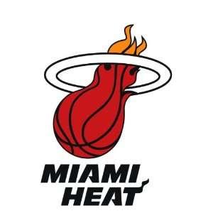 Miami heat logo sticker vinyl decal 5 x 3.6 Everything