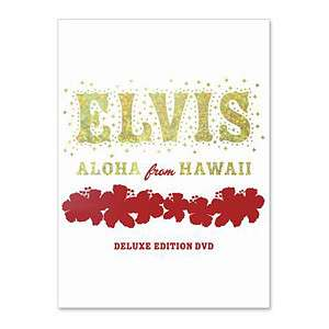 ELVIS Aloha From Hawaii Deluxe Edition DVD  Shop Ticketmaster