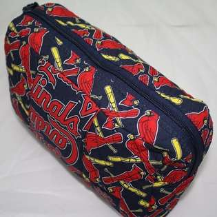 . Louis Cardinals MLB Fabric Cosmetic Bag Purse  Forever Collectibles