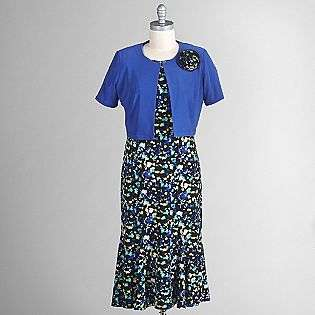 and Floral Print Dress  Danny & Nichole Clothing Womens Dresses