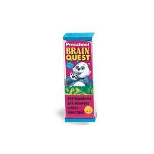 Brain Quest Game Deck   Preschool: Toys & Games