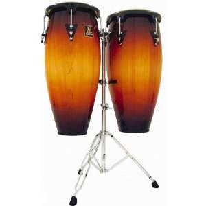 Lp Aspire 10 & 11 Wood Conga Set W/ Std Vtg Sunburst