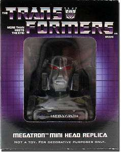 Transformers Megatron Head Bust