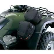 QuadGear ATV Fender Cargo Bag   Black